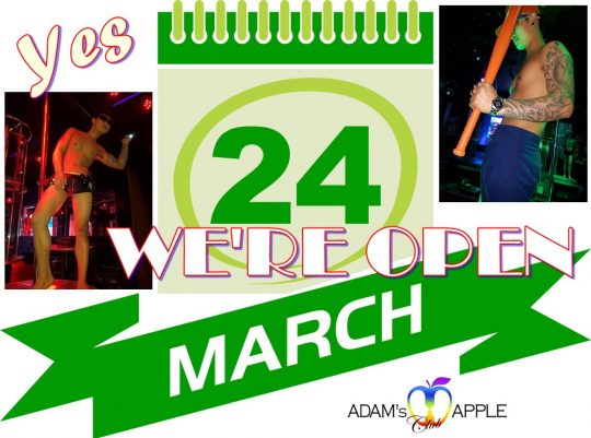 24th March Admas Apple Club open