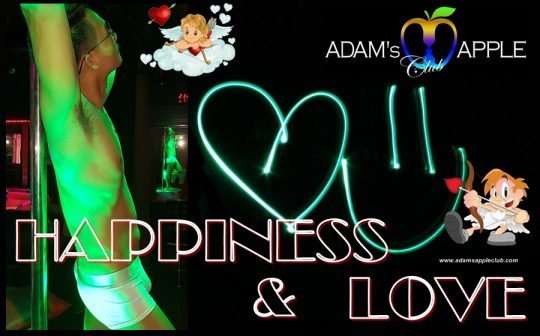 HAPPINES and LOVE Adams Apple Club