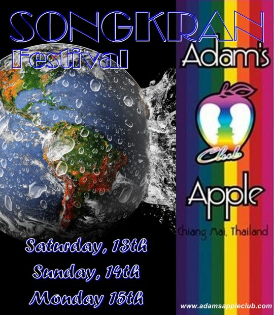 Songkran 2019 Adams Apple Club