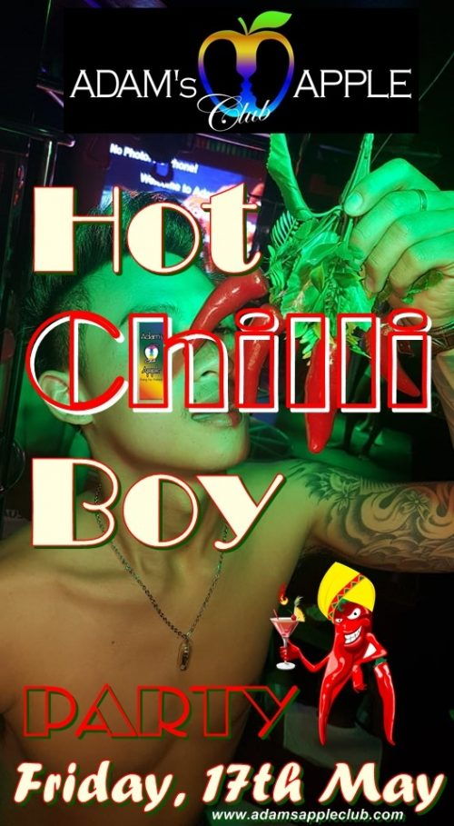 Hot Chilli Boy Party Adams Apple Club