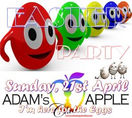 GIANT Easter EGGS Adams Apple Club CNX