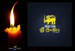 Pray for Sri Lanka Adams Apple Club