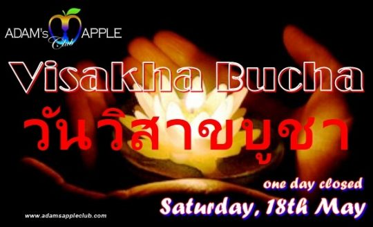 Visakha Bucha Day 2019 Adams Apple Club CNX