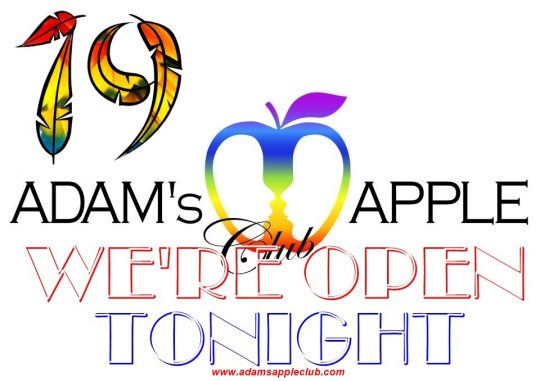 Adams Apple Club OPEN tonight 19th