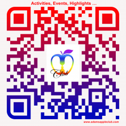 qr-code Adams Apple Club Activities, Events, Highlights …