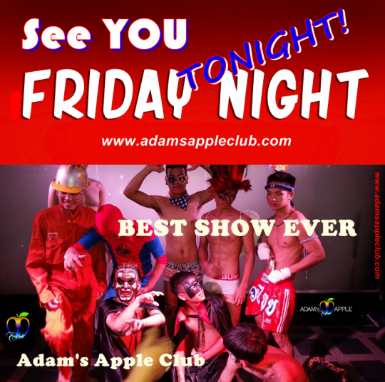 Friday Nightlife Adams Appel Club Chiang Mai