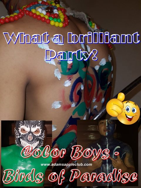 Brilliant Party Color Boy Adams Apple Club CNX