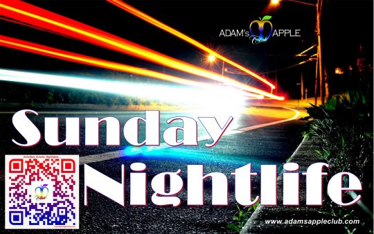 Sunday Nightlife Adams Apple Club Chiang Mai