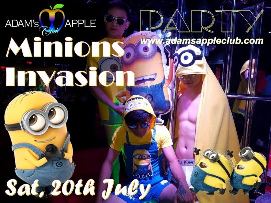 Minions Invasion Adams Apple Club Chiang Mai