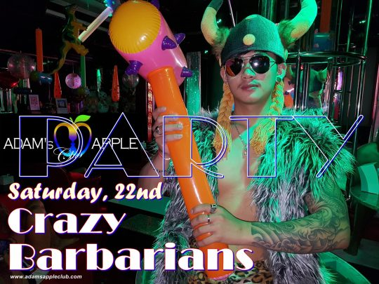 Crazy Barbarian Adams Apple Club Chiang Mai