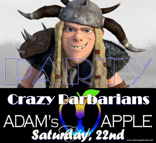 Crazy Barbarian Adams Apple Club