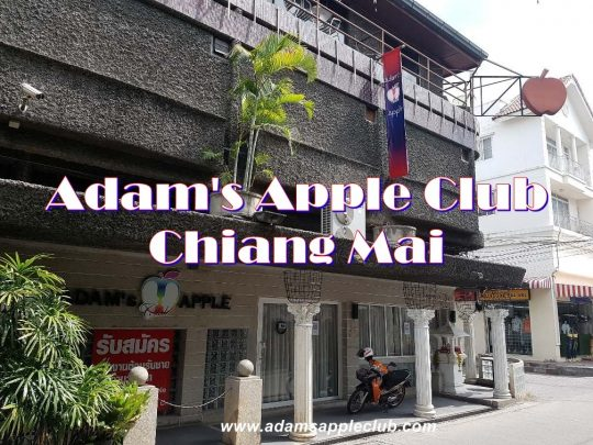 Adam's Apple Club Chiang Mai Outside