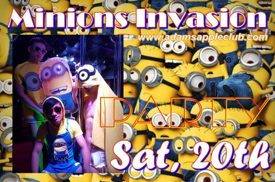 Minions Invasion Adams Apple Club