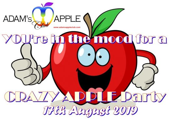 Crazy Apple Party Adams Apple Club