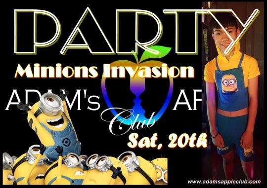 Minions Invasion Party 20th Adams Apple Club
