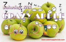 Apple Party Adams Apple Club