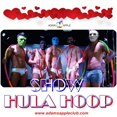HULA HOOP STARS Adams Apple Club Chiang Mai Adult Entertainment Nightclub Nightlife Go-Go Bar Live Performance Asianboys Thaiboys Ladyboys