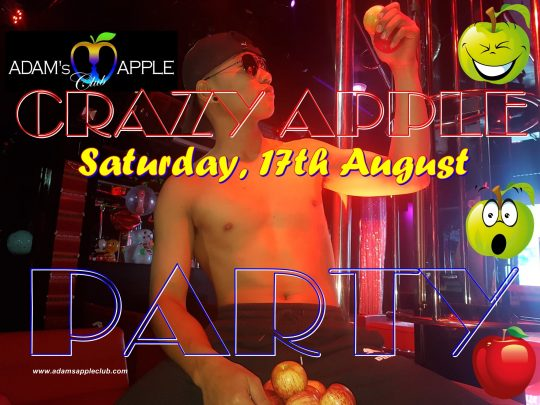 Adams Apple Club Crazy Apple Party