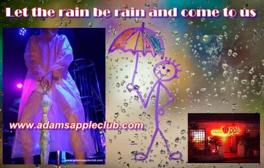 Adams Apple Club Let the rain