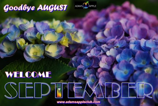 Godbye Agust Welcome September 2019