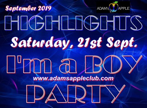 Highlights September 2019 Adams Apple Club