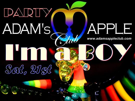 I'm a Boy Sanuk Party Adams Apple Club