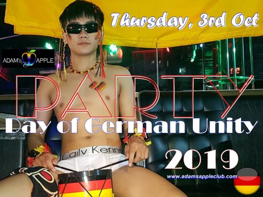 Day of German Unity 2019 Adams Apple Club