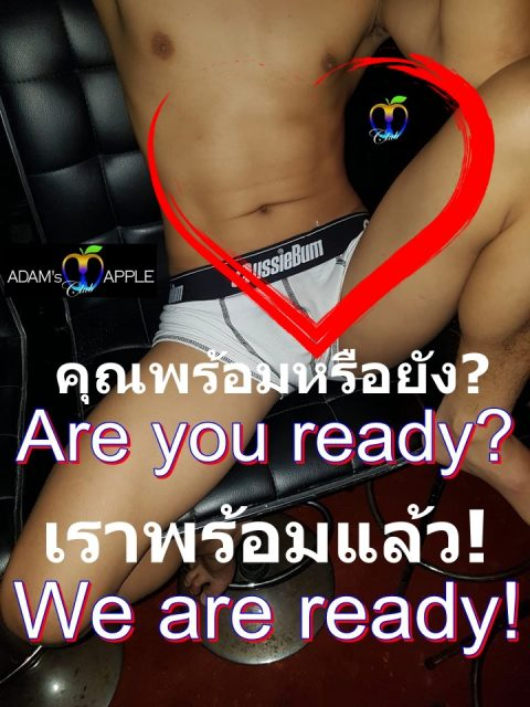 Adams Apple Club Chiang Mai You are ready