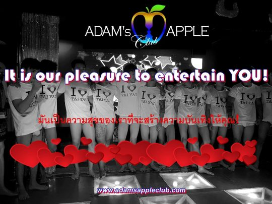 It is our pleasure to entertain YOU!