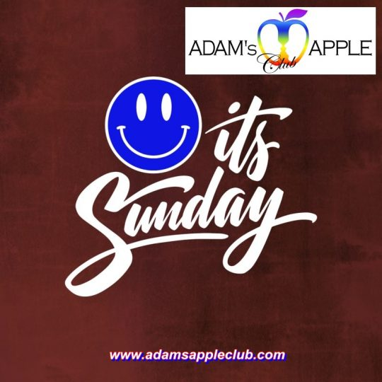 It's Sunday Adams Apple Club CNX