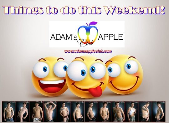 Adams Apple Club Weekend Saturday and Sunday