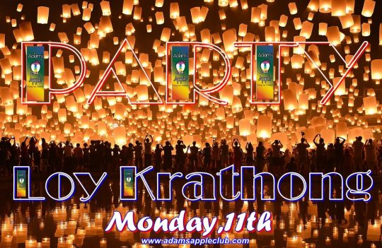 Celebrate Loy Krathong 2019 Adams Apple Club