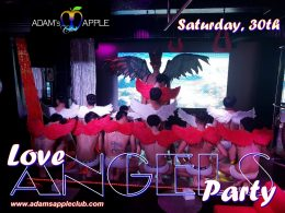 Adams Apple Club Love Angels Party