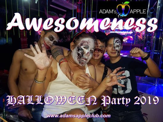 Awesomeness Halloween Party 2019 Adams Apple Club