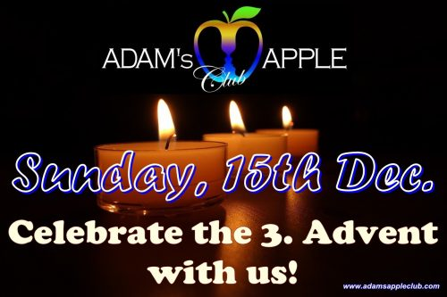 3th Advent Adams Apple Club