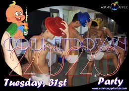 Countdown Party 2020 Adams Apple Club