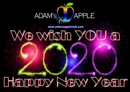 Happy New Year 2020 Adams Apple Club