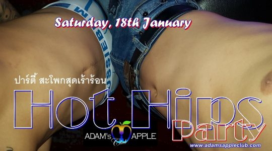 Hot Hips Party Adams Apple Club