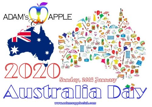 Australia Day 2020 Adams Apple Club CNX