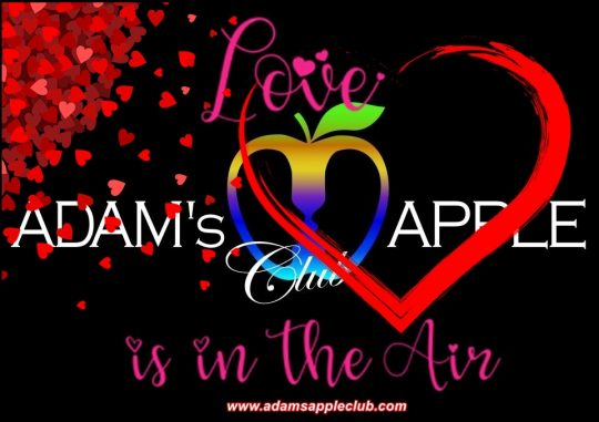LOVE is in the AIR Adams Apple Club