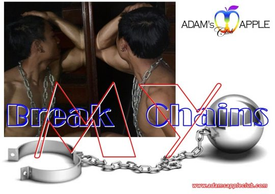 Break my Chains Adam's Apple Club Gay Bar Chiang Mai
