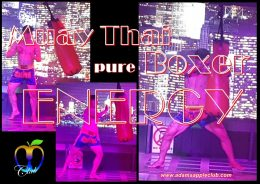 Muay Thai Boxer pure ENERGY Adams Apple Club