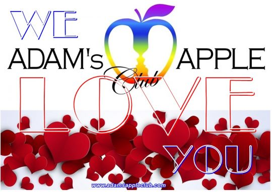 We LOVE YOU Adams Apple Club Chiang Mai