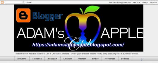 blogger Adams Apple Club