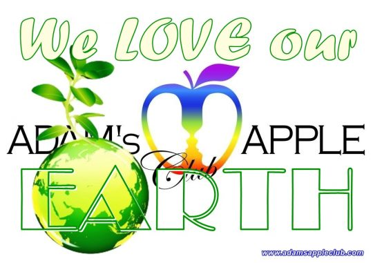 We LOVE our EARTH Adams Apple Club