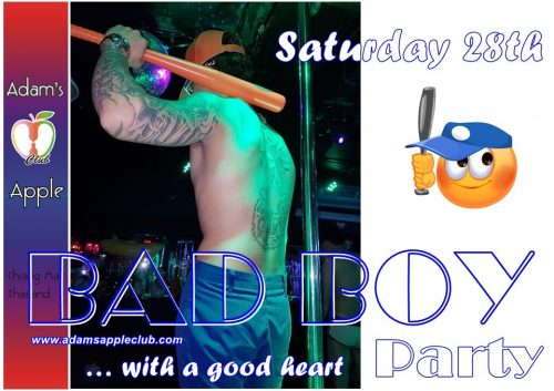 Bad Boy Party Adams Apple Club Gay Bar Chiang Mai