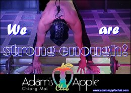 We are strong enough! Adams Apple Club