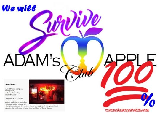 We will survive 100% Adams Apple Club