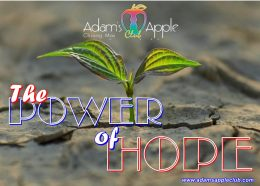 The power of hope Adams Apple Club