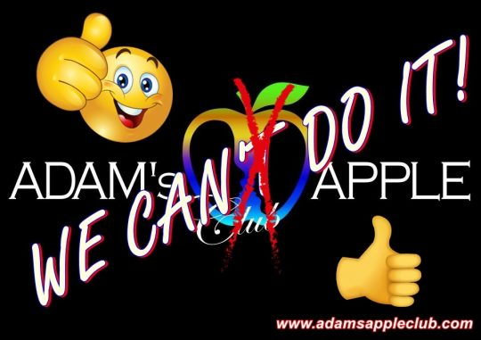 We can do it Adams Apple Club
